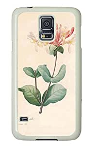 Samsung Galaxy S5 nature flower colorful 17 PC Custom Samsung Galaxy S5 Case Cover White