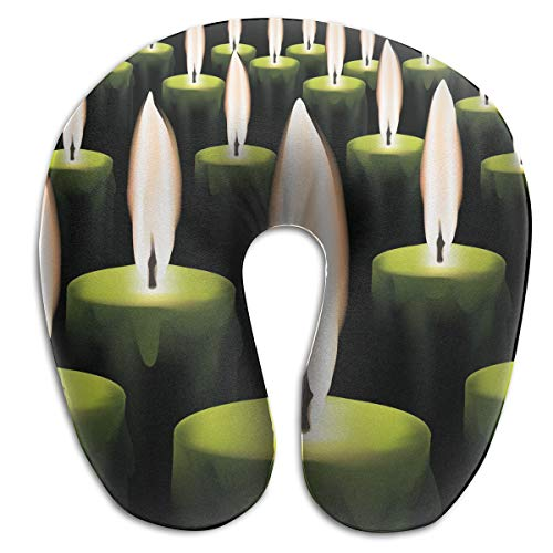 Laurel Neck Pillow Candle Picture Travel U-Shaped Pillow Sof