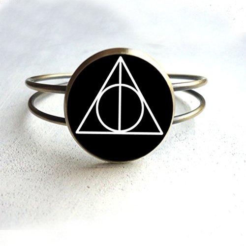 Harry Potter Deathly Hallows Bracelet Harry Potter Deathly Hallows Bracelet Charm Bracelet, Birthday Present, Gift, Bracelet Everyday Gift