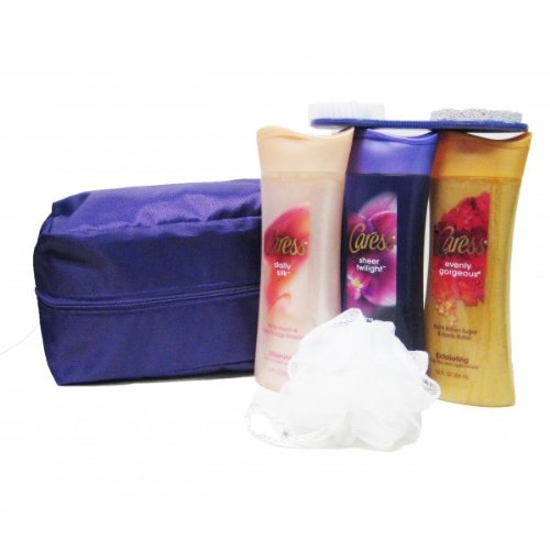 caress-body-wash-gift-set-with-travel-bag-6-piece