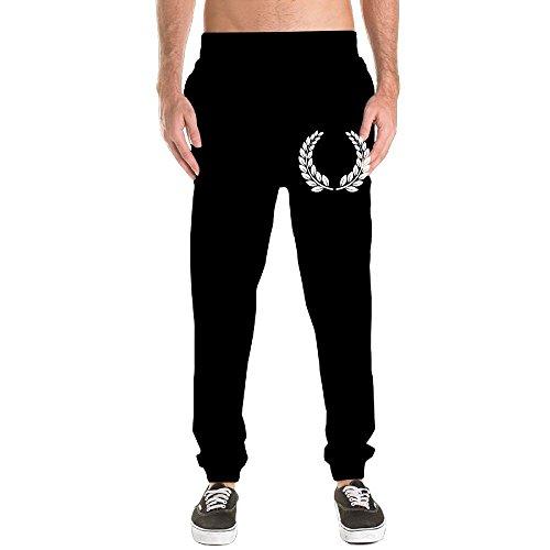Textured Laurel Wreath Mens Pants Sports Yoga Jogger Sweatpants Casual Trousers XL
