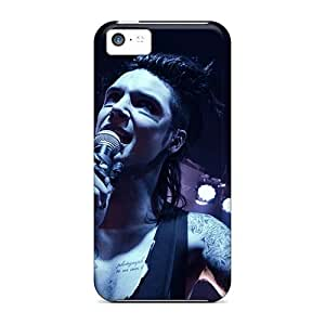 Iphone 5c IAe16485YVNW Customized High-definition Black Veil Brides Band BVB Skin Excellent Hard Cell-phone Case -RitaSokul