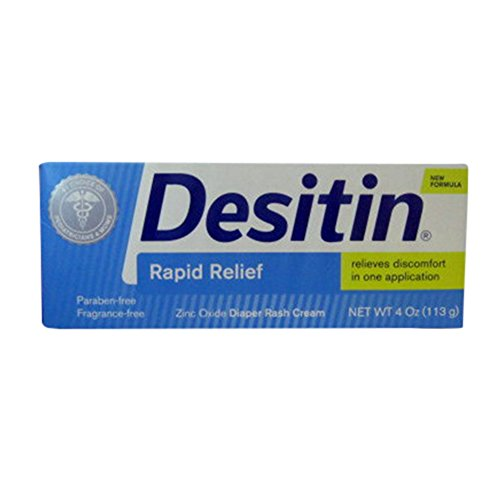 Desitin Rapid Relief Cream 4 Oz (2 Pack) from Desitin
