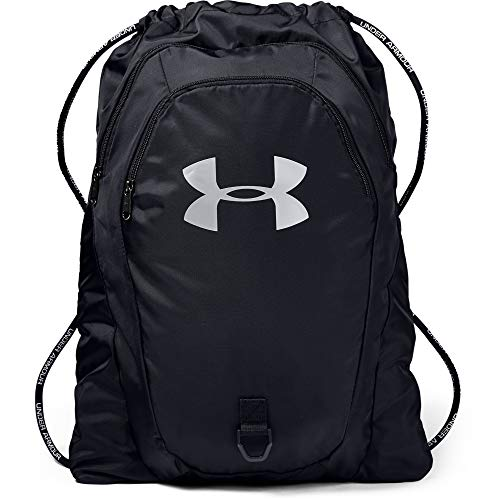 Under Armour Undeniable 2.0 Sackpack, Black (001)/Silver, One Size Fits All