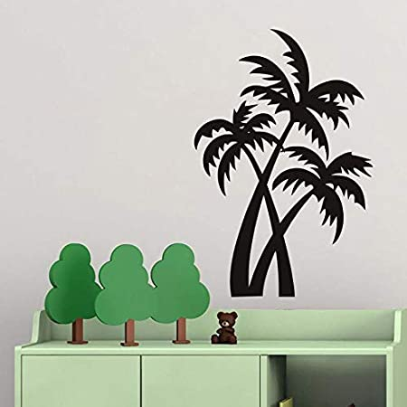 Planta de árbol de Coco Etiqueta de la Pared para la Sala de Estar ...