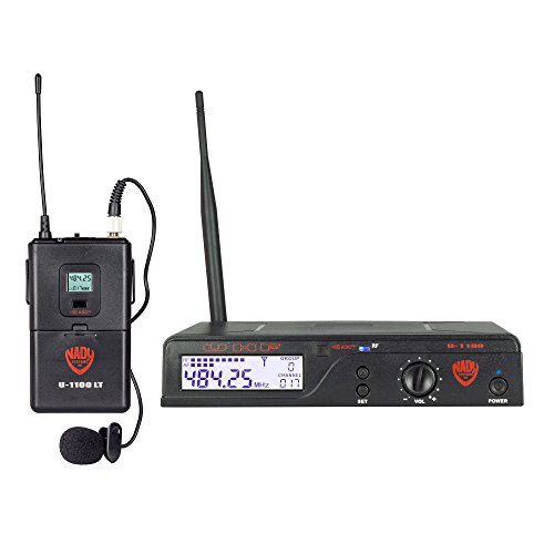 Performance Series Wireless Lapel Microphone (Nady U-1100 LT 100-Channel UHF Wireless Lavalier Microphone System)