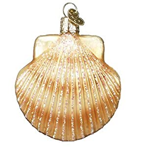 41%2Bqok7wGdL._SS300_ 100+ Best Seashell Christmas Ornaments