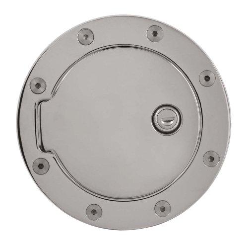 Bully GD-103CK Chrome Fuel Door with Lock