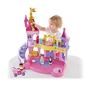 Fisher-Price Little PeopleDisney Princess Musical Dancing Palace Gift Set - 41 2Bqp3InWCL - Fisher-Price Little PeopleDisney Princess Musical Dancing Palace Gift Set