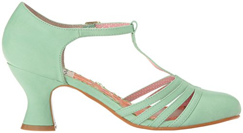 Bettie Page Kvinnor Bp254-lucy Åskådare Pump Mint
