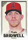 2018 Topps Gallery Baseball #47 Parker Bridwell Los Angeles Angels Official MLB Trading Card