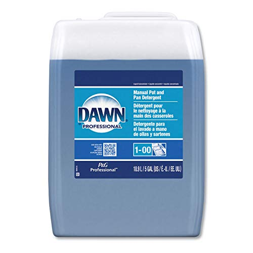 Dawn Professional 70681 Manual Pot & Pan Dish Detergent, Original Scent, Five Gallon Pail