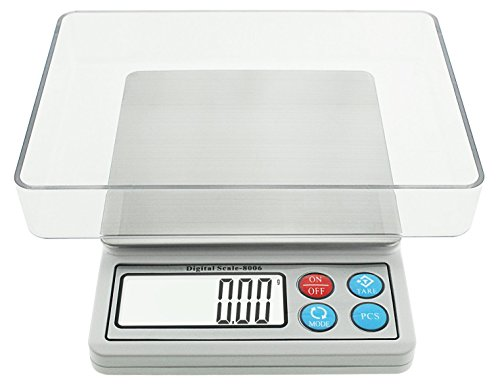 Digital Pocket Food Scale, Toprime 600g 0.01g High Precision Postage Gram Jewelry Kitchen Scale, (Digital Lab Scale)