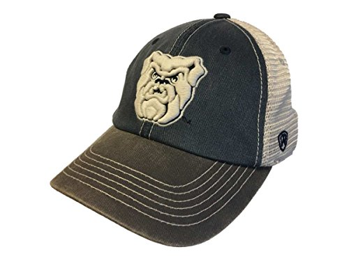 Top of the World Butler Bulldogs Tow Navy Gray Offroad Adjustable Snapback Mesh Hat Cap ()