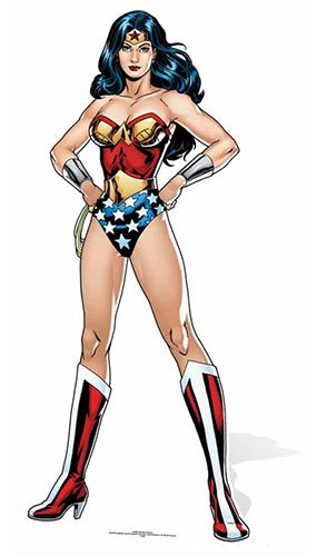 DC Comics Star Cutouts Sc845 Wonder Woman Cardboard Cut Out -