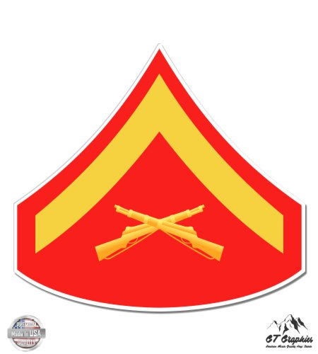 USMC E3 Lance Corporal Rank - 3