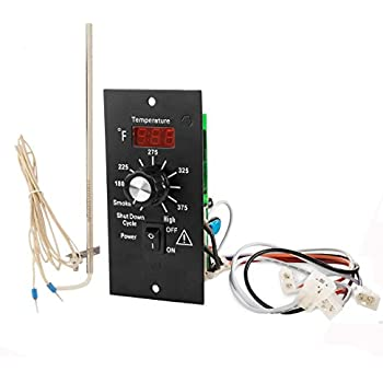amazon.com : digital thermostat kit for traeger pellet ... traeger thermostat schematic wire schematic for traeger