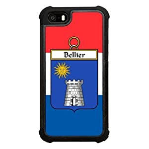 Bellier Family Crest French Shield Click America Tuff Impact iPhone 5s Case