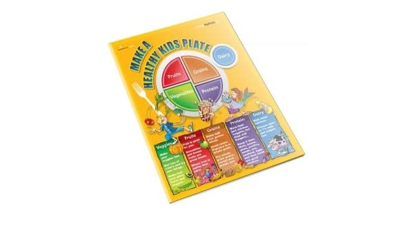 Amazon.com : MyPlate Kids Color Handout Tearpad : Office Products
