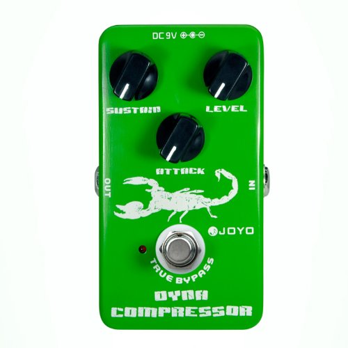 JOYO JF-10 Dynamic Compressor Guitar Effect Pedal (10 Best Overdrive Pedals)