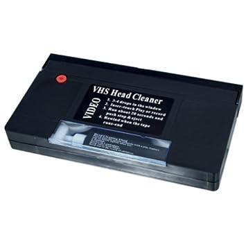 HQ VHS Head Cleaner - Cinta de limpieza VHS-C - negro: Amazon.es: Electrónica