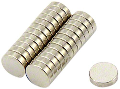 Pack of 20 0.7kg Pull Magnet Expert/® 8mm dia x 2mm thick Samarium Cobalt Magnet