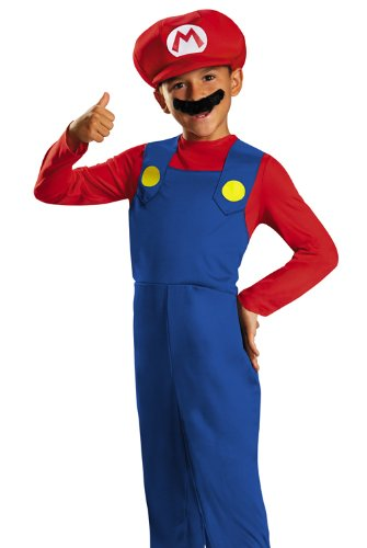 Disguise Nintendo Super Mario Brothers Mario Classic Boys Costume