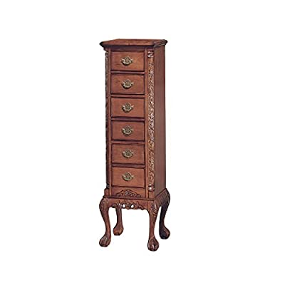 Design Toscano English Six Drawer Chippendale Tallboy