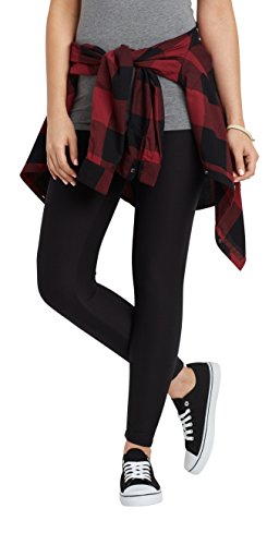 maurices Women's Ultra Soft Legging Medium Active Black from maurices