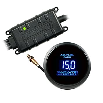 Innovate Motorsports 3795 DB BLUE Wideband Air/Fuel Gauge Kit includes LC-2  & Bosch LSU 4 9