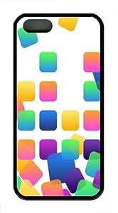 App slots Custom iPhone 5s/5 Case Cover TPU Black