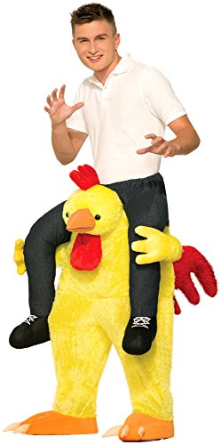 Chicken Halloween Costumes For Adults (Forum Novelties Men's Chicken Fight Costume, Yellow,)