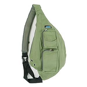 Meru Sling Backpack Bag - Small Single Strap Crossbody Pack for Women and Men (Olive Green)
