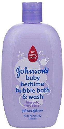 JOHNSON'S Baby Bedtime Bubble Bath & Wash -15 oz