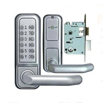 MM La Tercera Generación de aleación de zinc mecánico contraseña cerradura de la puerta/Cuerpo