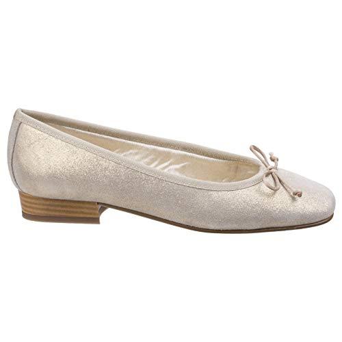 Ballerine Womens Riva Ledro Chaussure Or Cuir naRzvq