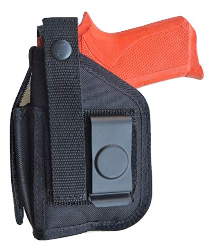 Hip Holster with Magazine Pouch for Walther P22 with Underbarrel Laser