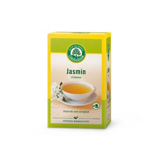 Lebensbaum Grüntee China Jasmin im Beutel (30 g) - Bio