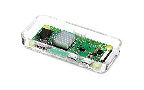 Vilros Raspberry Pi Zero W Basic Starter Kit- Clear Case Edition-Includes Pi Zero W -Power Supply & Premium Clear Case by Vilros (Image #8)