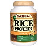 Nutribiotic – Vegan Rice Protein Vanilla Flavor – 1.5 lbs. For Sale