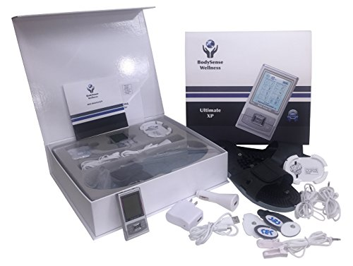 BodySense XP Portable Tens Unit Set & Sandals. Our Better Tens Unit Bundle is a Mini Massager Featuring a Rechargeable Muscle Stimulator with 8 Digital Modes Tens Therapy for Muscle & Back Pain Relief Intensity Micro Combo