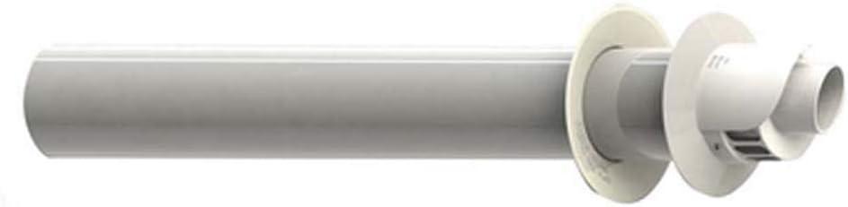 Estable kit terminal de aspiración / desagüe coaxial para condensación – diám. 60/100