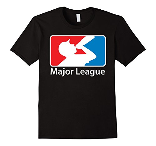 Men's MAJOR LEAGUE Beer Drinking T-shirt 3XL