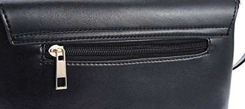 Women Adjustable Fuchsia Purse Handbag Fashion Crossbody JeHouze Strap 8qP5v66w