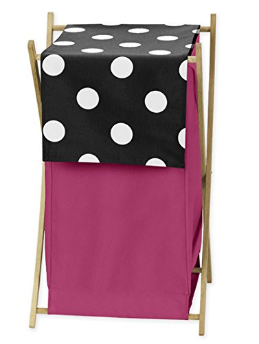 Baby/Kids Clothes Laundry Hamper for Hot Dot Bedding by Swee