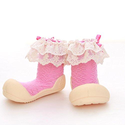 Attipas , Chaussures premiers pas pour bébé (fille) rose rose 20