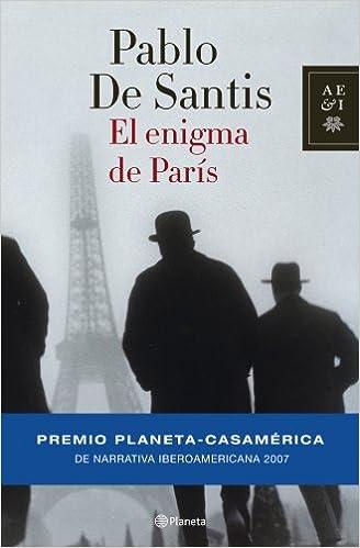 """Résultat de recherche d'images pour """"el enigma de paris pablo de santis"""""""