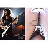 Llavero Guitarra Gibson Flying V James Hetfield Metallica ...
