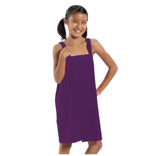 Party Robes for Girls Terry, Purple - Medium,