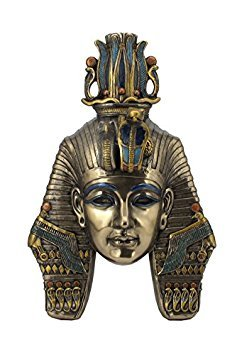 King TUT Tutankhamum Mask Egyptian Pharaoh Wall Plaque - Mask Tut King